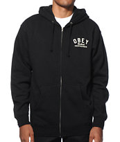 Obey Worldwide Propaganda Zip Up Hoodie