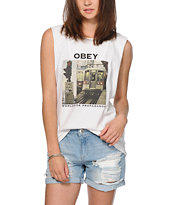 Obey Your Signal Muscle Tee