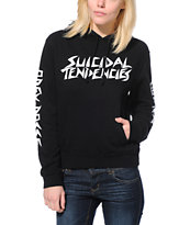 Obey x Suicidal Tendencies Pro Black Pullover Hoodie