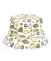 Odd Future 420 Clocks Bucket Hat
