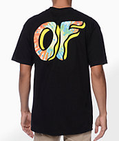 Odd Future Awesome Donut Black Tee Shirt