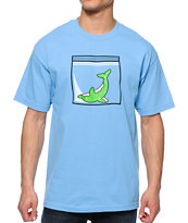 Odd Future Dolphin Dimebag Light Blue Tee Shirt