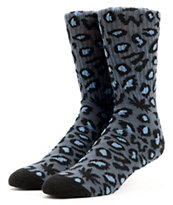 Odd Future Domo Cheetah Grey Crew Socks