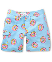 Odd Future Donut Blue 19 Board Shorts