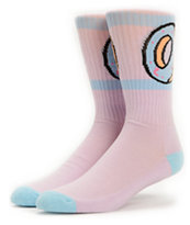 Odd Future Donut Lavendar Purple Crew Socks