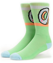 Odd Future Donut Mint Green Crew Socks
