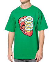 Odd Future Donut Stacks Green Tee Shirt
