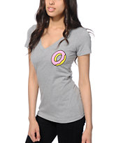 Odd Future Donut V-Neck T-Shirt