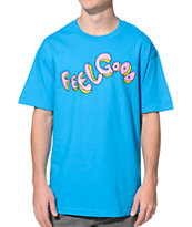 Odd Future Feelgood Donut Turquoise Tee Shirt