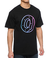 Odd Future Gradient Donut Black Tee Shirt