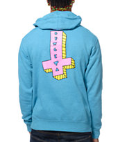 Odd Future It's Us Cross Turquoise Pullover Hoodie