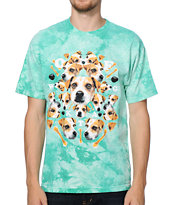 Odd Future Jack Acid Mint Tie Dye Tee Shirt
