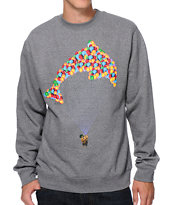 Odd Future Jasper Balloon Charcoal Crew Neck Sweatshirt