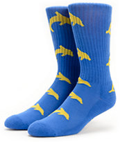 Odd Future Jasper Blue Crew Socks