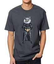 Odd Future MellowHype Bat Cat Grey Tee Shirt