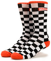 Odd Future Mike G Checker Crew Sock