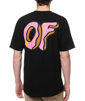 Odd Future New OF Donut Black Tee Shirt