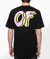 Odd Future OF Donut Black Tee Shirt