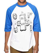 Odd Future OFWGKTA Cross Spray Baseball Tee Shirt