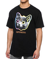 Odd Future OFWGKTA Tron Cat Black Tee Shirt