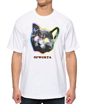 Odd Future OFWGKTA Tron Cat White Tee Shirt