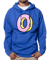 Odd Future One Donut Royal Blue Pullover Hoodie