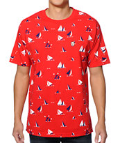 Odd Future Sinking Ship Earl Red Tee Shirt