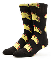 Odd Future Taco Black Crew Socks