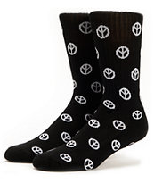 Odd Future Trash Talk Black Crew Socks