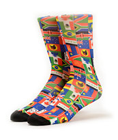 Odd Future Wearld Multicolor Crew Socks
