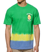 Odd Future Wearld Tour Tie Dye Tee Shirt