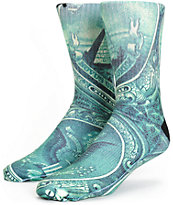 Odd Sox Dollar Bill Crew Socks