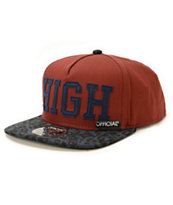 Official High Leopard Snapback Hat