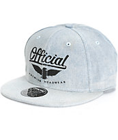 Official Jose Rojo Denim Snapback Hat