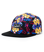 Original Chuck Floreal Black Floral 5 Panel Hat