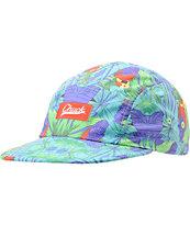 Original Chuck Paradise Turquoise Camper 5 Panel Hat
