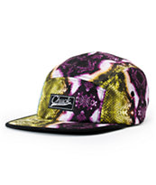 Original Chuck Snakidd Black Snake Print 5 Panel Hat