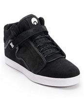 Osiris Bingaman Mid Black & White Skate Shoe
