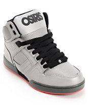 Osiris Kids NYC 83 SE Sliver Flash Reflective Skate Shoes