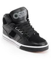 Osiris NYC 83 Black, Charcoal, & White Skate Shoe