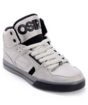 Osiris NYC 83 VLC Ballistic Grey & Black Skate Shoe