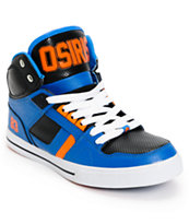 Osiris NYC 83 Vulc Baller Series Black, Orange & Blue Shoe