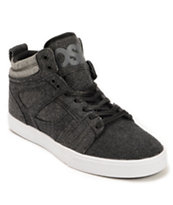 Osiris Raider Charcoal, Grey, & Black Wool Skate Shoe