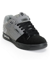 Osiris The Peril Black, Charcoal, & Grey Skate Shoe