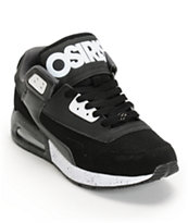 Osiris Uprise Black, White & Charcoal Skate Shoe