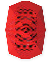 Outdoor Technology Turtle Shell Red Wireless Bluetooth Boombox