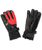 POW Warner Red & Black GORE-TEX Snowboard Glove