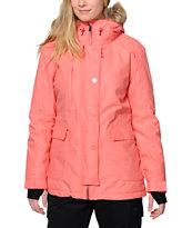 PWDR Room Skyline Coral 10K Snowboard Jacket