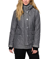 PWDR Room Skyline Grey 10K Snowboard Jacket