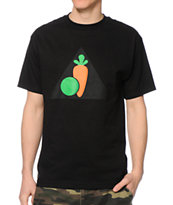 Peas & Carrots Cartoon Triangle Tee Shirt